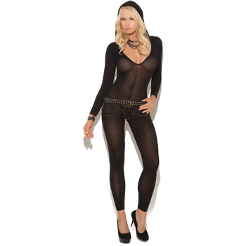 Footless Long Sleeve Bodystocking