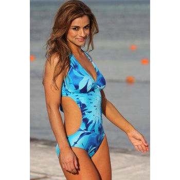 Caribbean Cruise Cut Out Bathing Suit