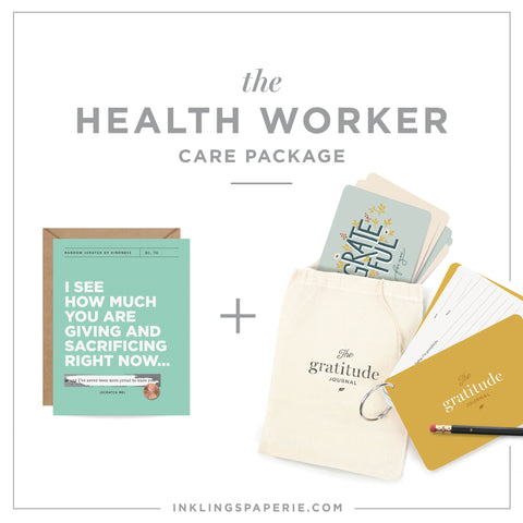 Healthcare Worker Care Package