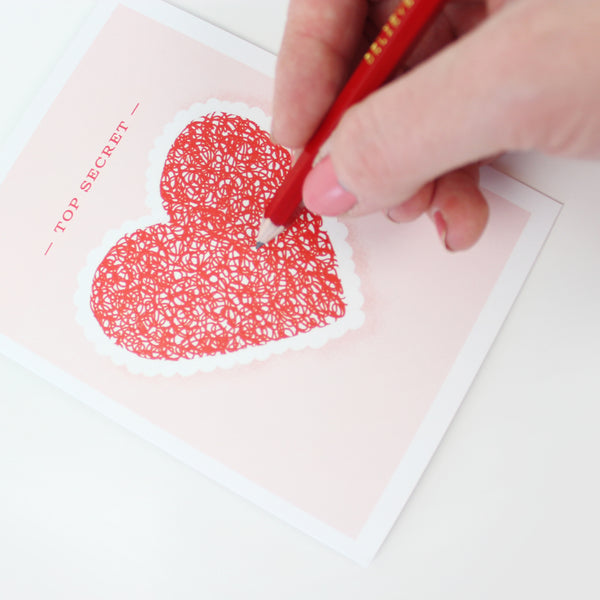 Heart Decoder Card