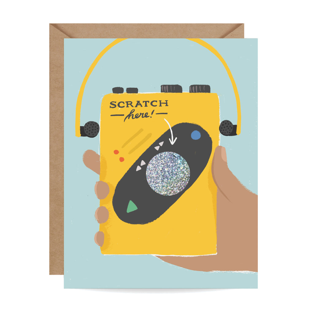 Old Sport Scratch-off Card