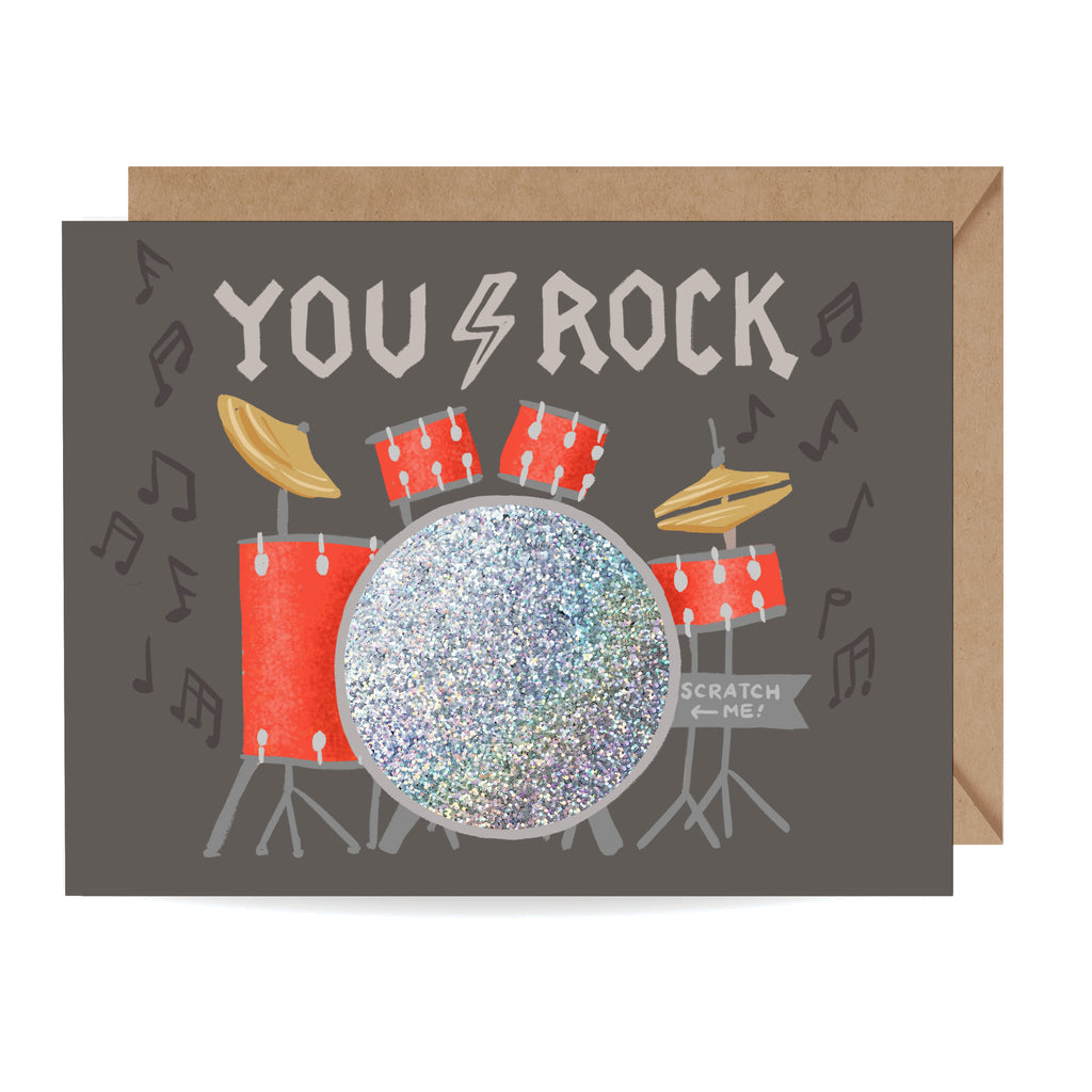 You Rock Scratch-off Card