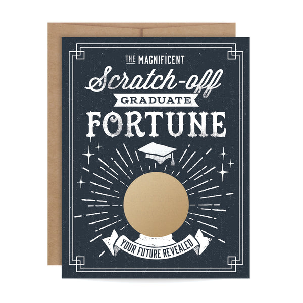 Graduate Fortune Scratch-off Card