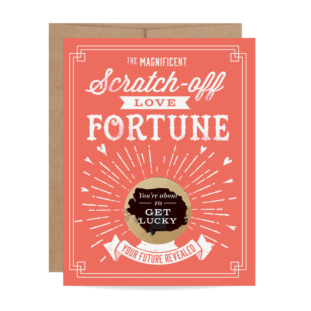 Lucky Fortune Scratch-off Card