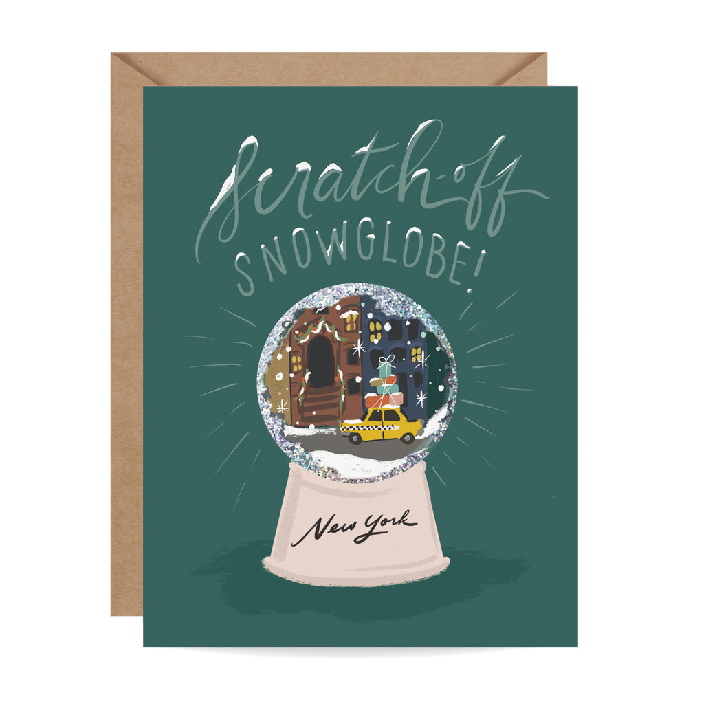 Scratch-off Snow Globe - New York
