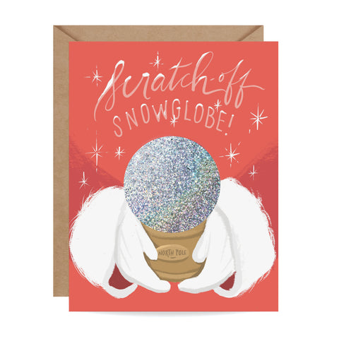 Scratch-off Snow Globe - North Pole