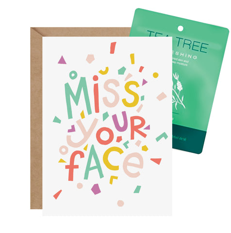 Facial Card - Miss Your Face
