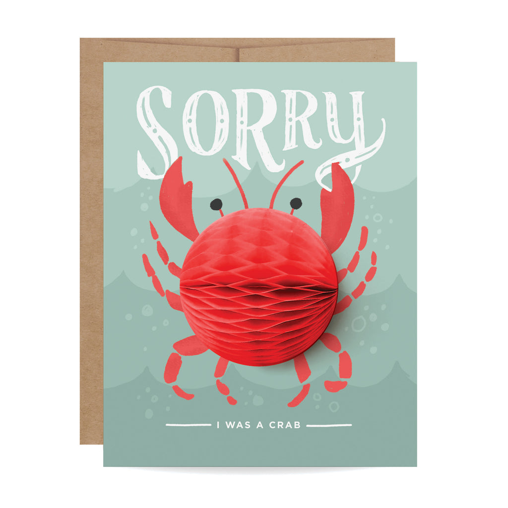 Crab Pop-up Card