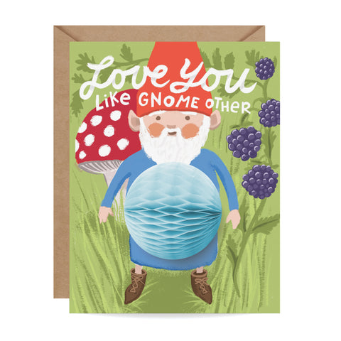 Gnome Pop-up Card