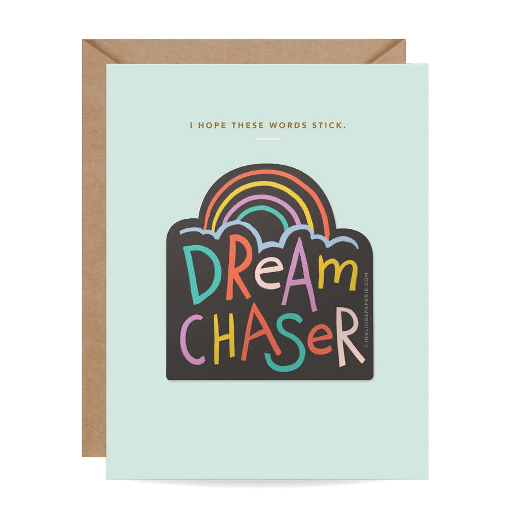 Dream Chaser Sticker Card