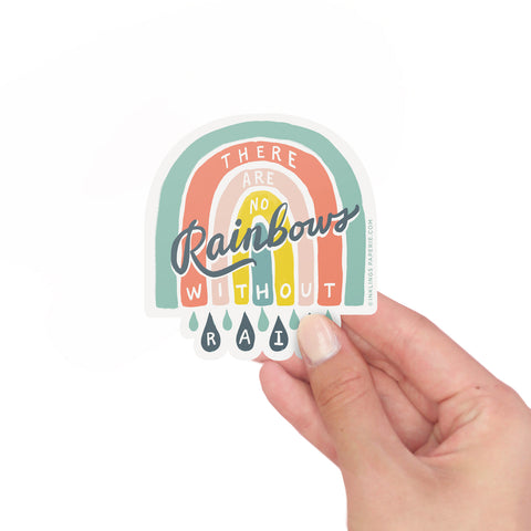 No Rainbows Vinyl Sticker