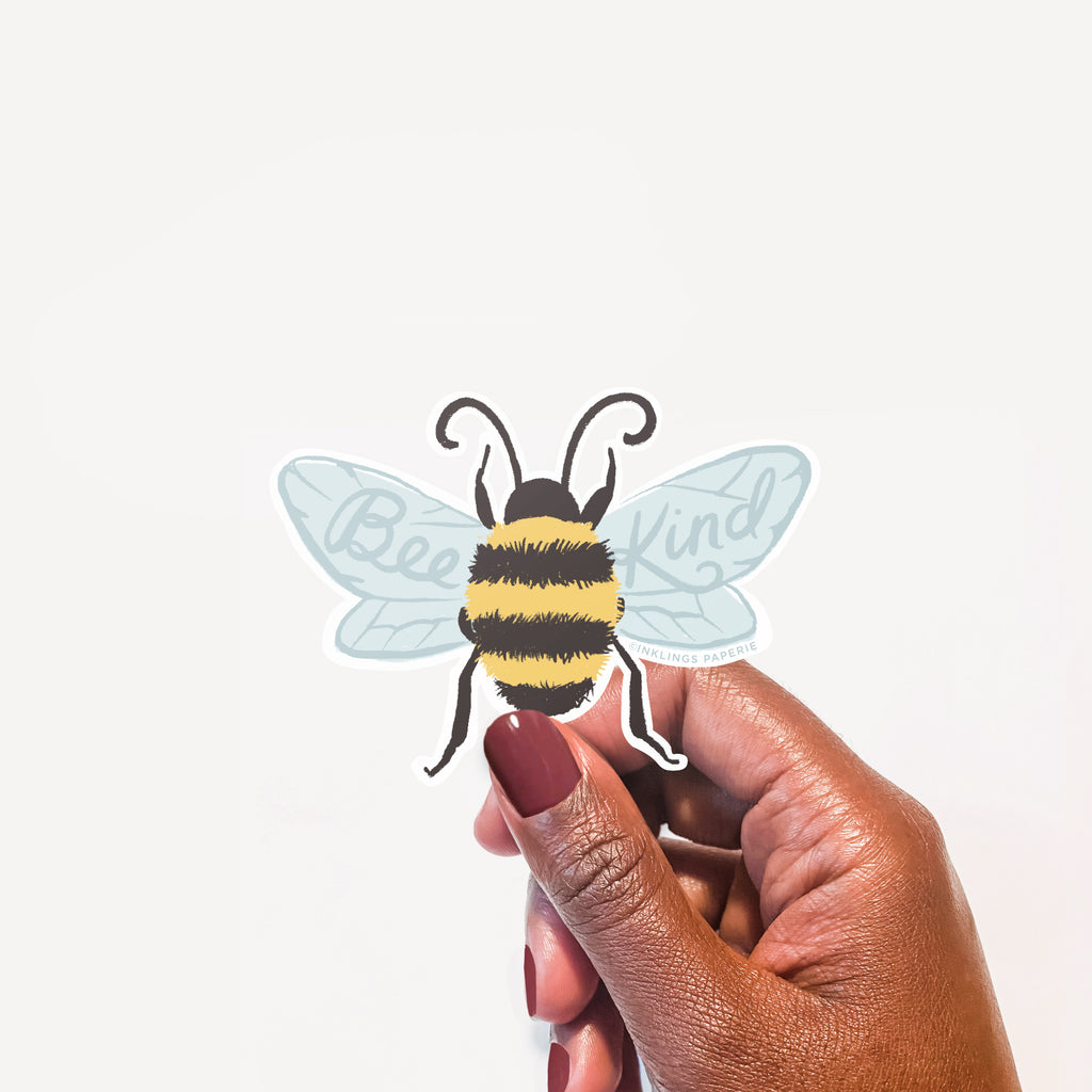 Bee Kind Vinyl Sticker