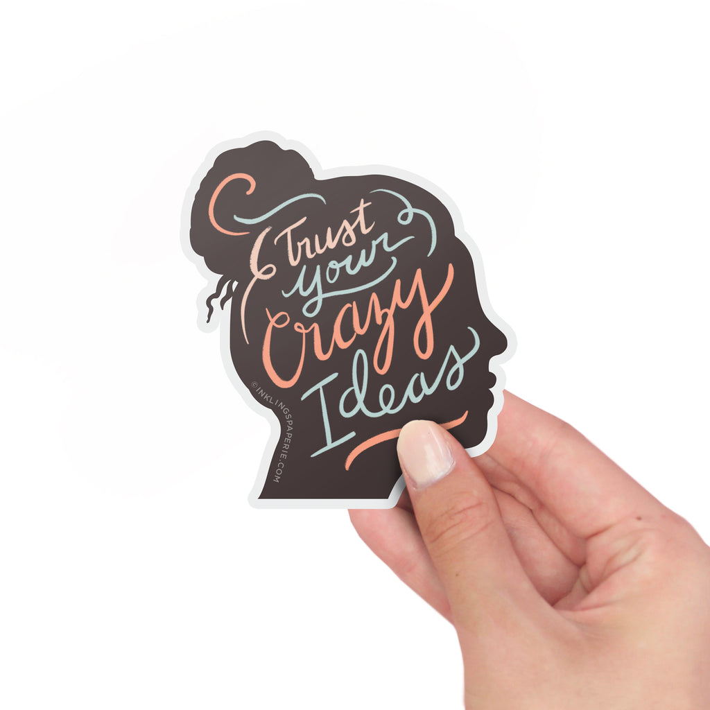 Crazy Ideas Sticker Card