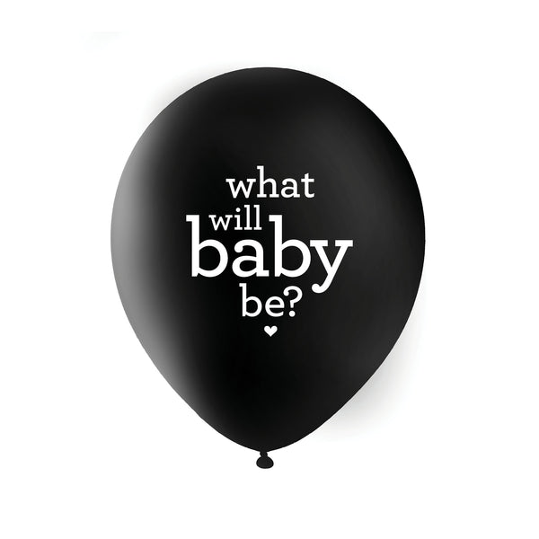 What Will Baby Be? Balloons