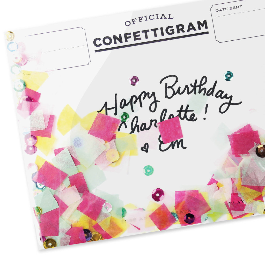 Confettigram™ - Birthday Brights