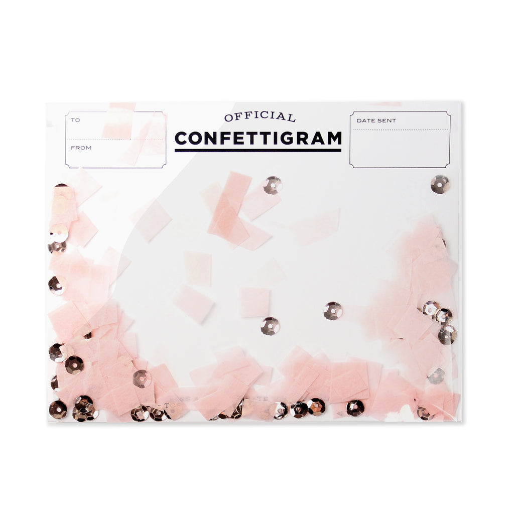 Confettigram™ - Rose Gold