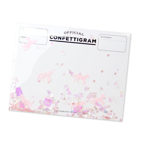 Confettigram™ - Unicorn