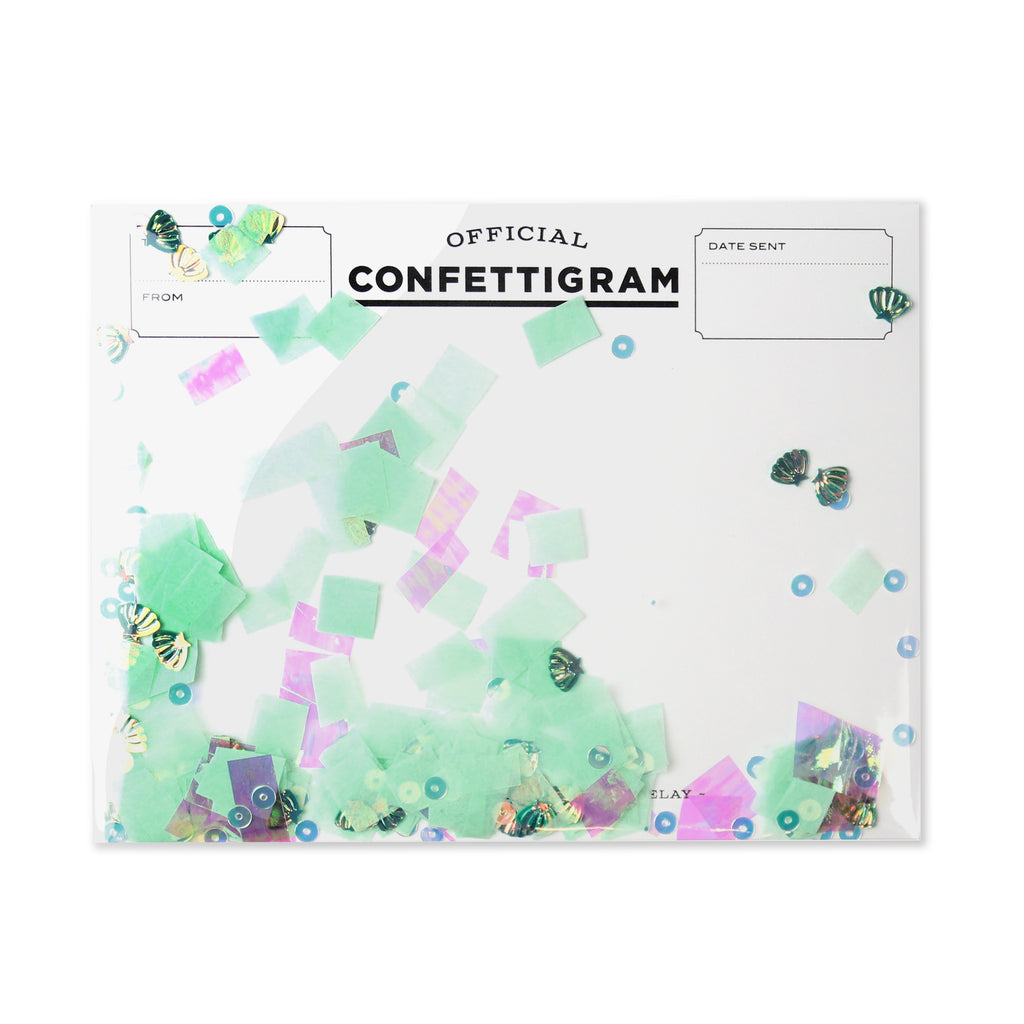 Confettigram™ - Mermaid