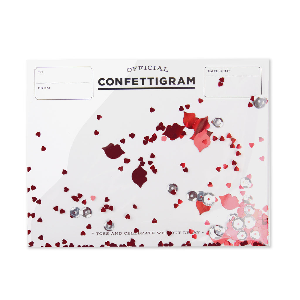 Confettigram™ - Kisses
