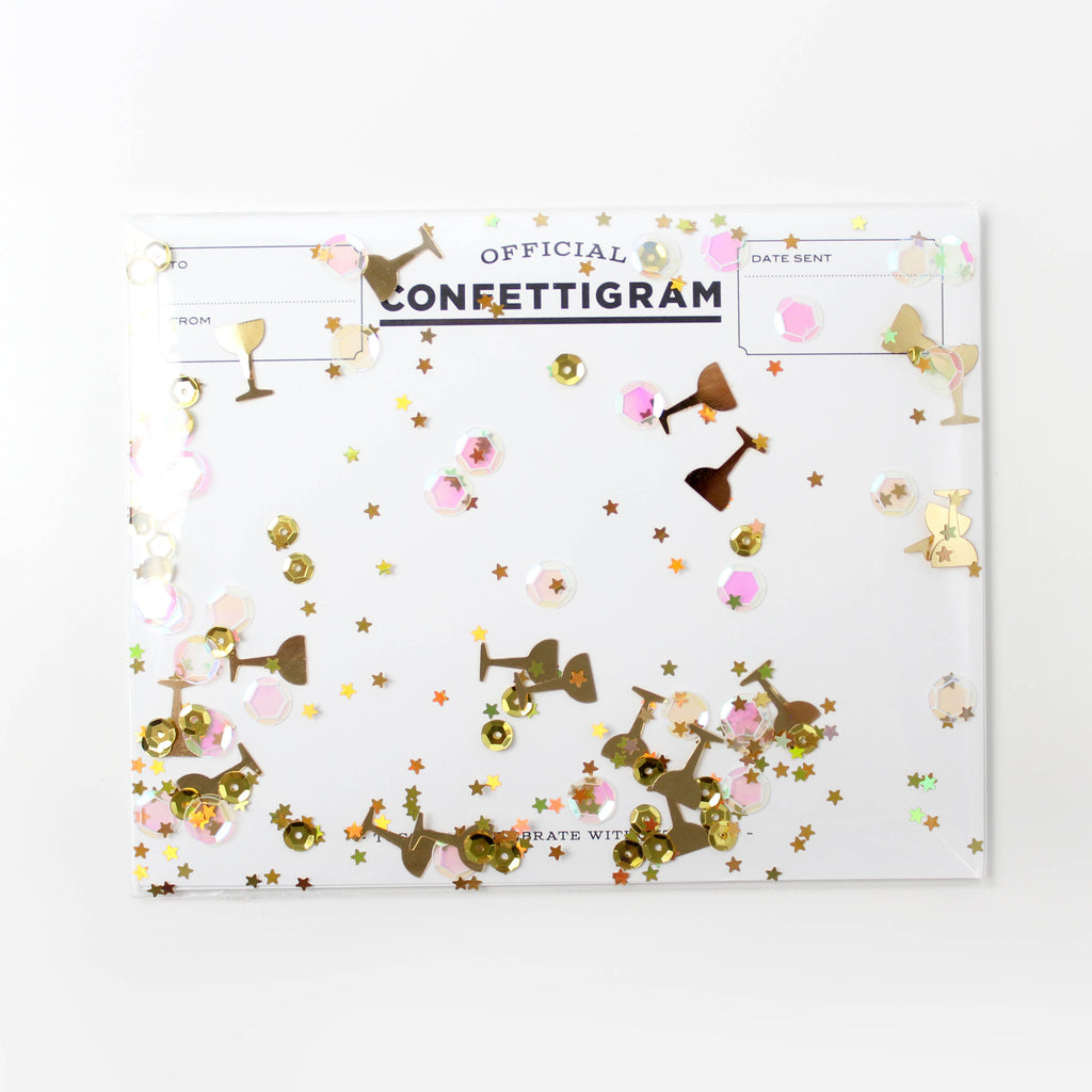 Confettigram™ - Pop Fizz Clink
