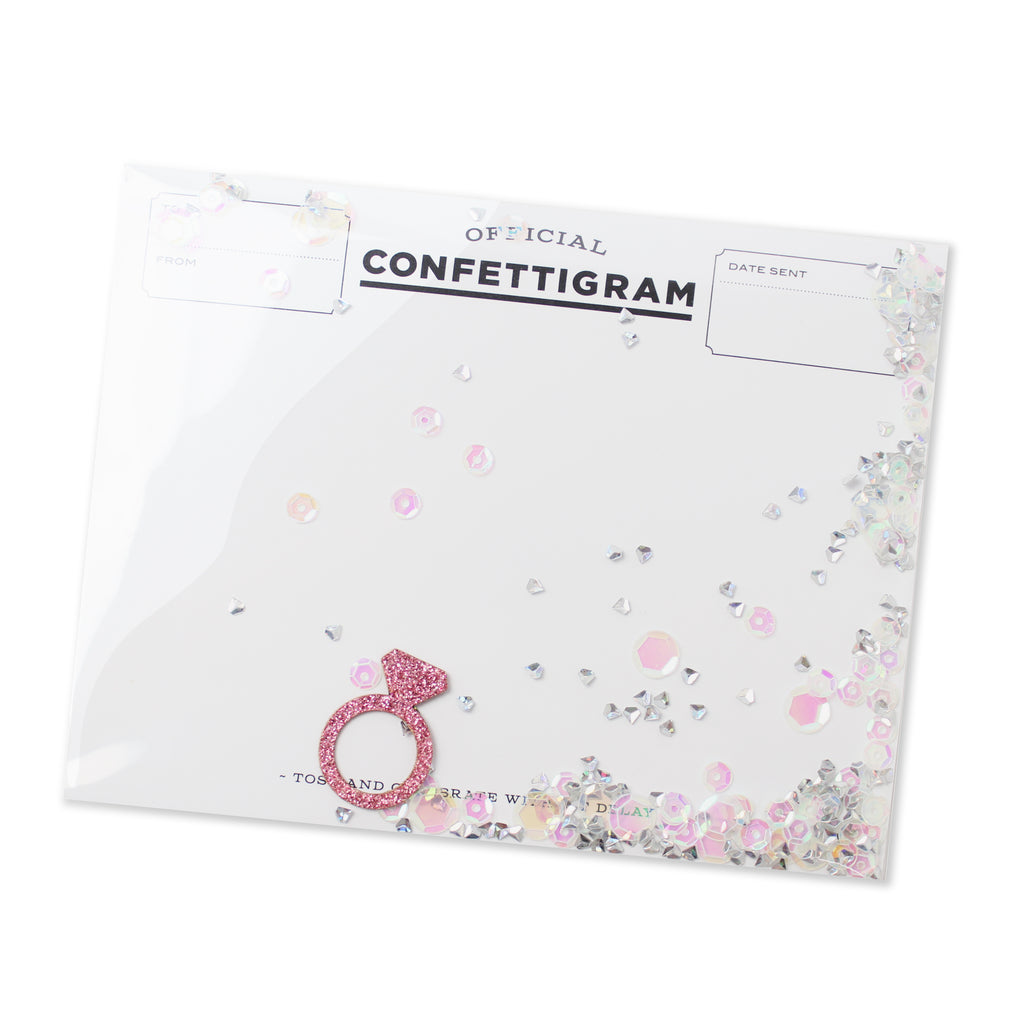 Confettigram™ - Bubbly Bride