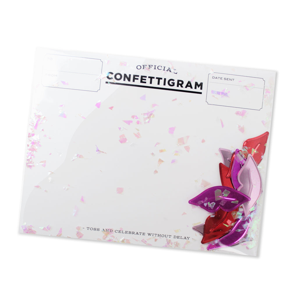 Confettigram™ - Sugar Lips