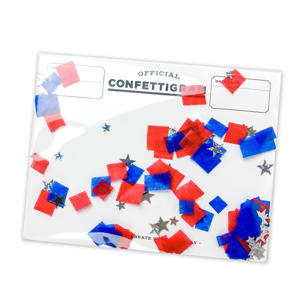 Confettigram™ - Stars & Stripes