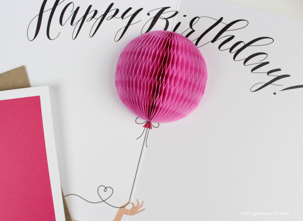 Happy birthday balloon pop up card inklings paperie happy birthday balloon pop up card bookmarktalkfo Image collections