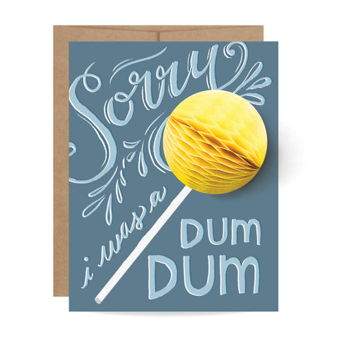 Dum Dum Pop-up Card