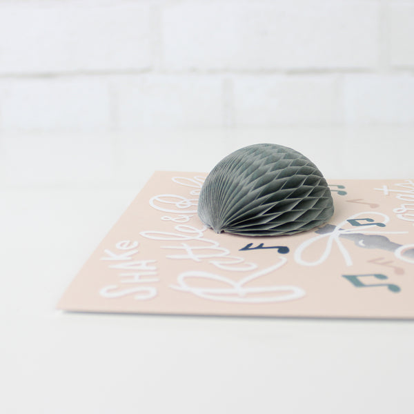 Rattle Pop-up Card