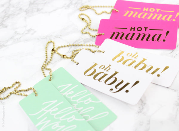 Baby Assorted Luxe Tags