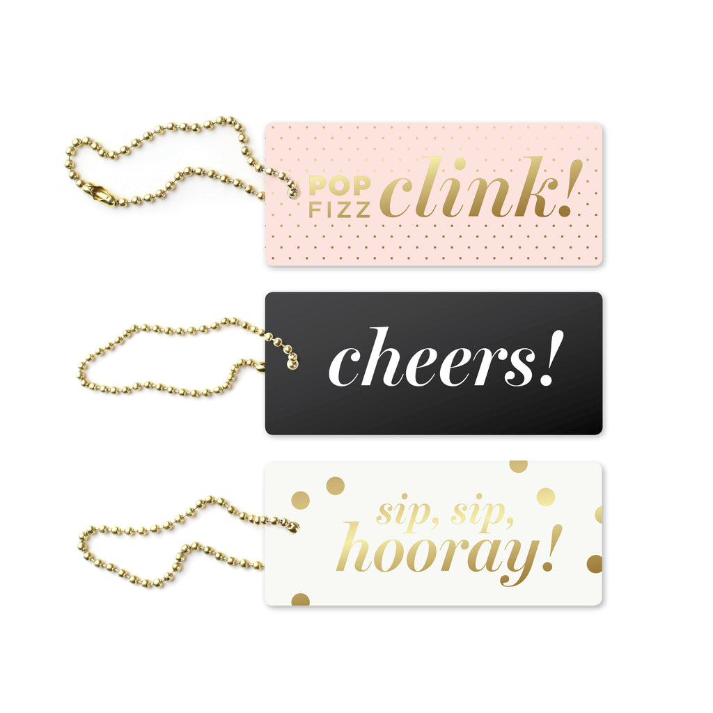 Cheers Assorted Luxe Tags