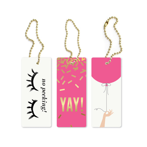 Birthday Assorted Luxe Tags
