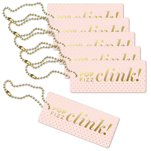 Pop Fizz Clink Luxe Tags