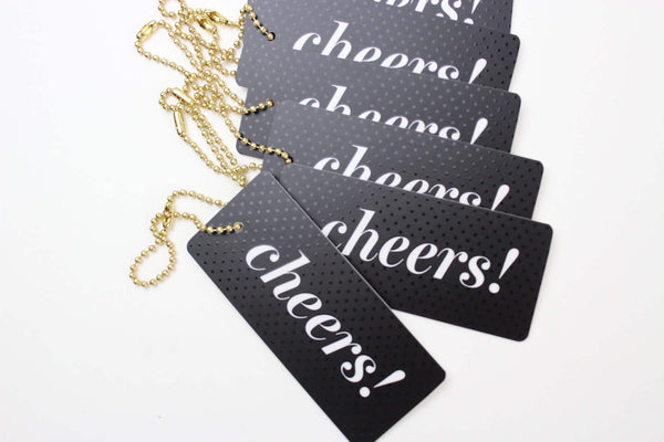 Cheers! Luxe Tags