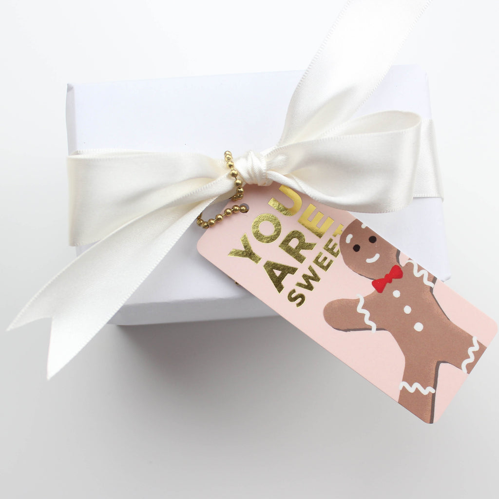 Gingerbread Man Tag