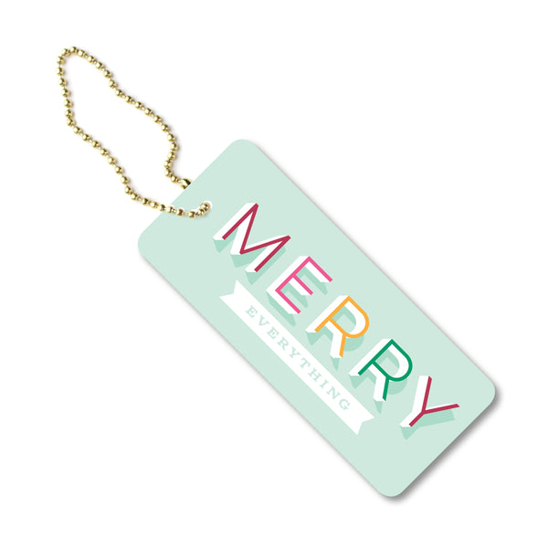 Merry Everything Tag