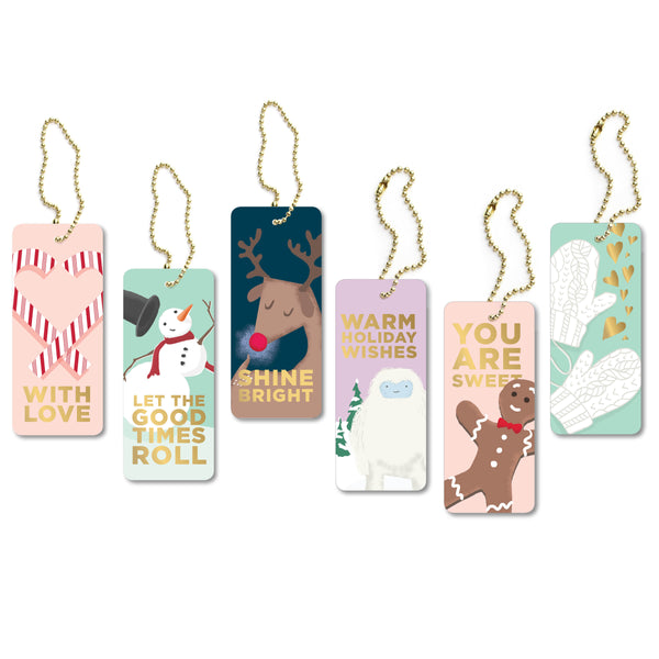 Winter Wonderland Luxe Tags