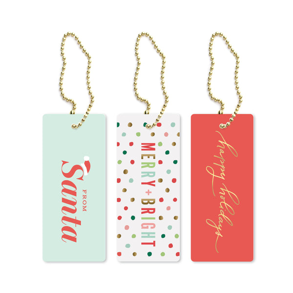 2019 Holiday Luxe Tags
