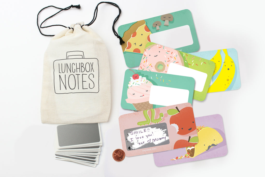 Scratch-off Lunchbox Notes - Ed. 2