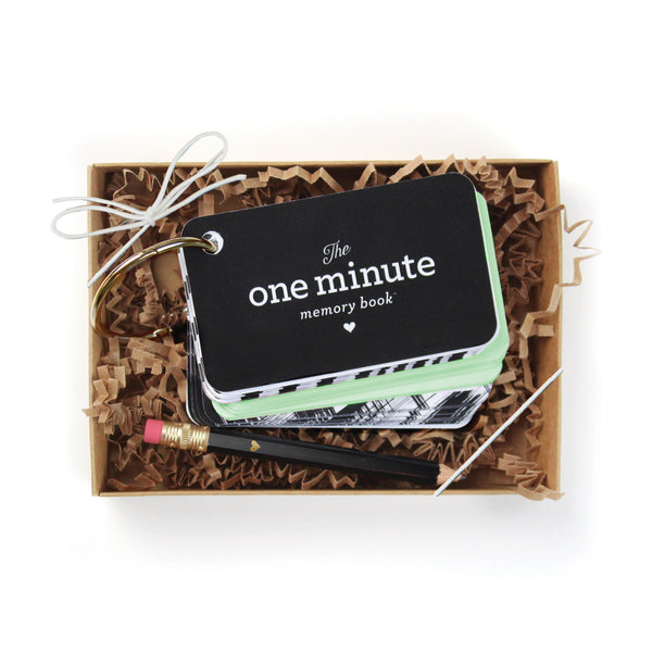 One Minute Memory Book Starter Ring - Mint