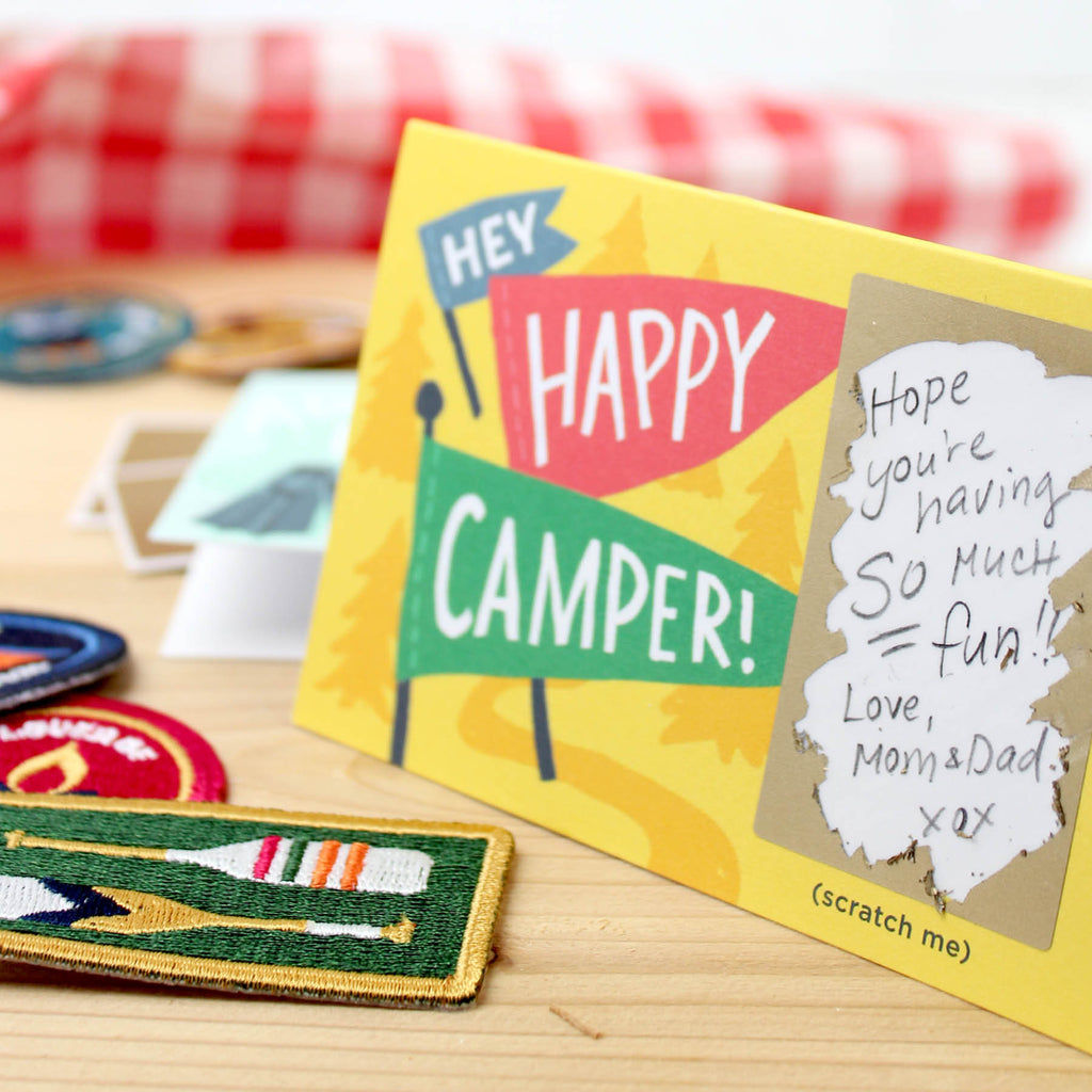 Camp Scratch-off Mini Notes