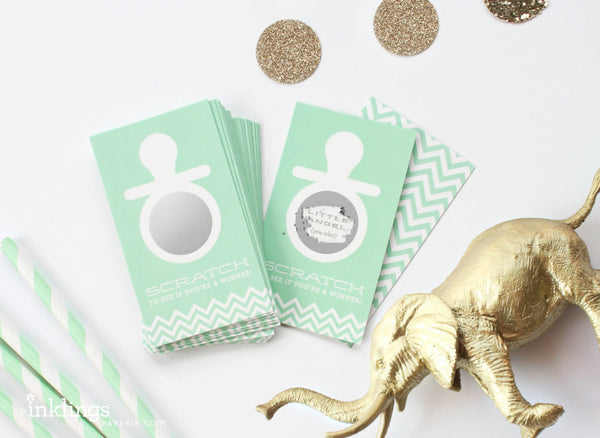 Mint Pacifier Scratch-off Game