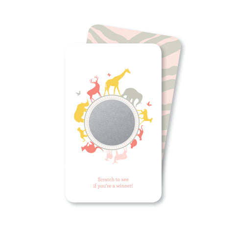 Pink Safari Scratch-off Game