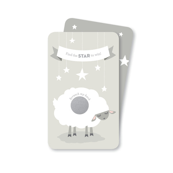 Soft Grey Lamb Scratch-off Game