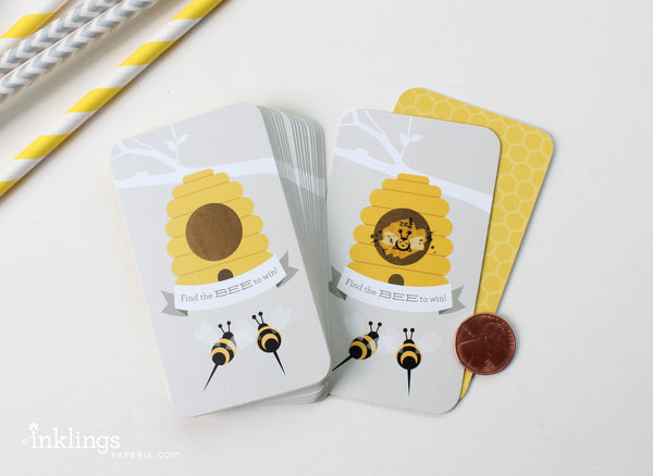 Baby Bee Scratch-off Game