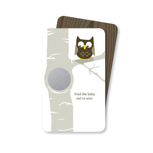Baby Owl Scratch-off Game