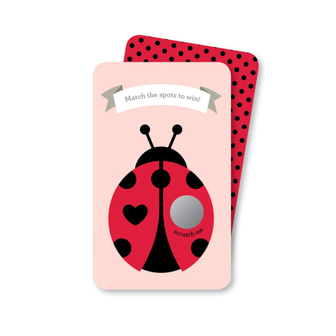 Ladybug Scratch-off Game
