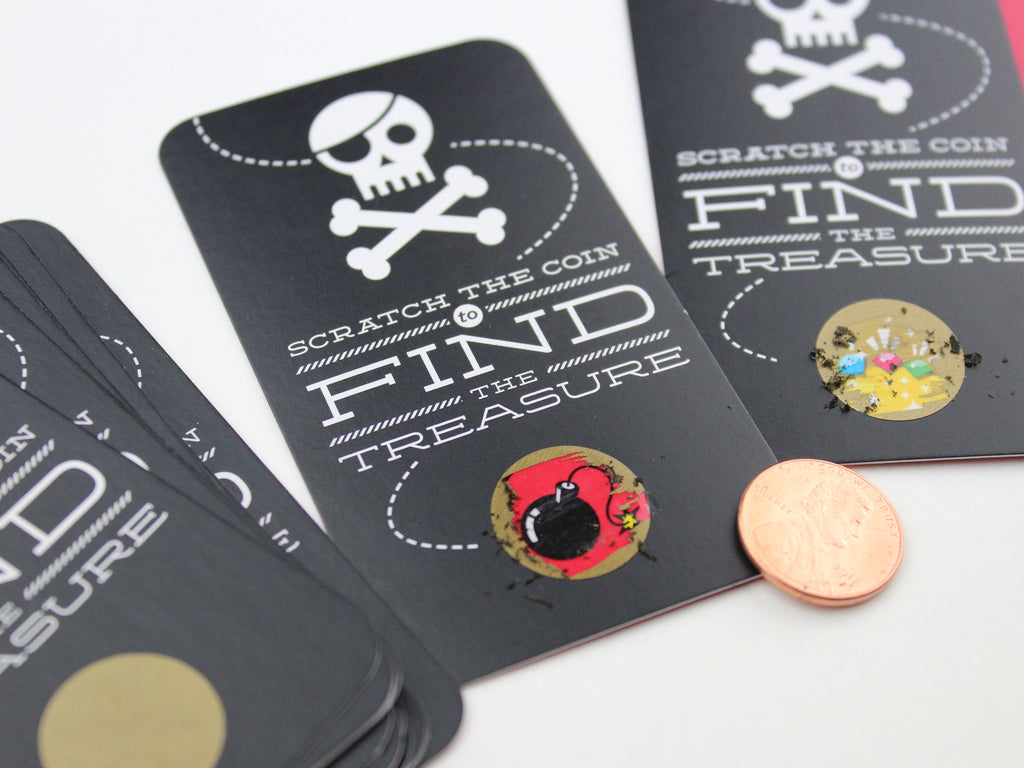 Pirate Scratch-off Game
