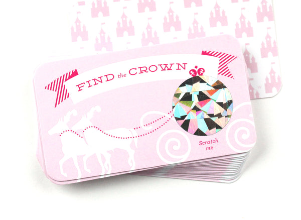 Find the Crown Scratch-off Game